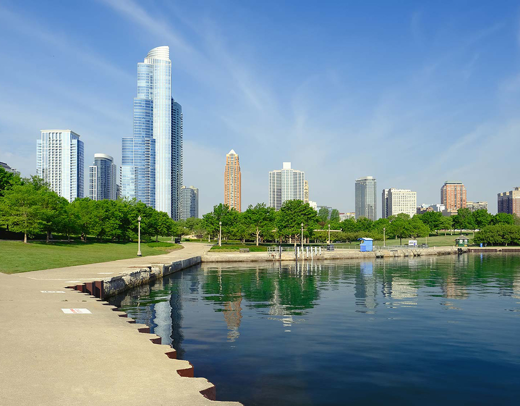 Hyde Park Towers - Chicago, IL - Chicago Skyline